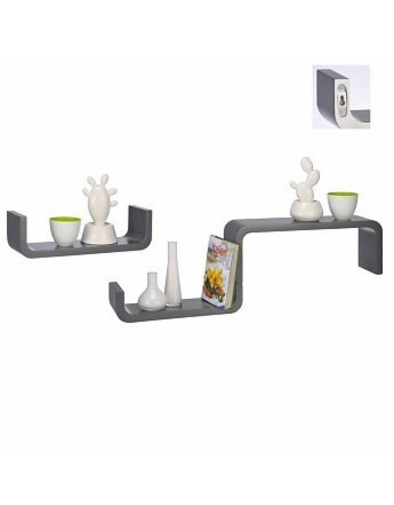 Design Wall Shelves 3-piece set