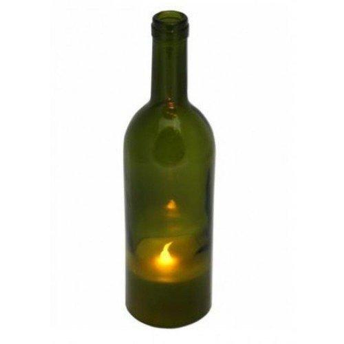 Wijnfles met Led verlichting