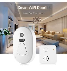 Parya Official  Wifi door bell with camera