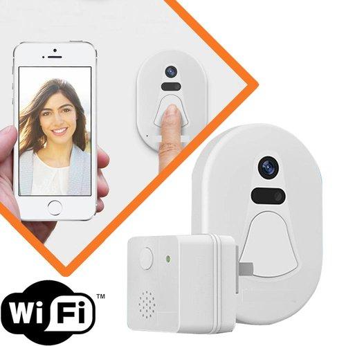 Wifi door bell with camera