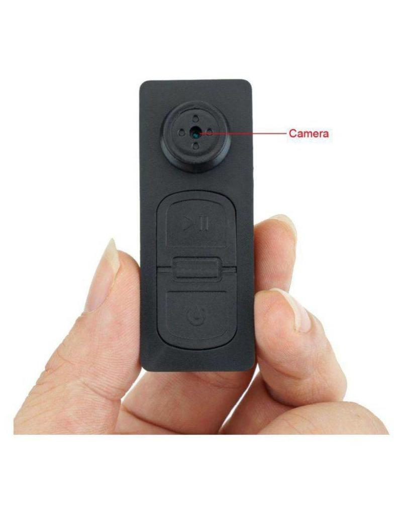Button with camera