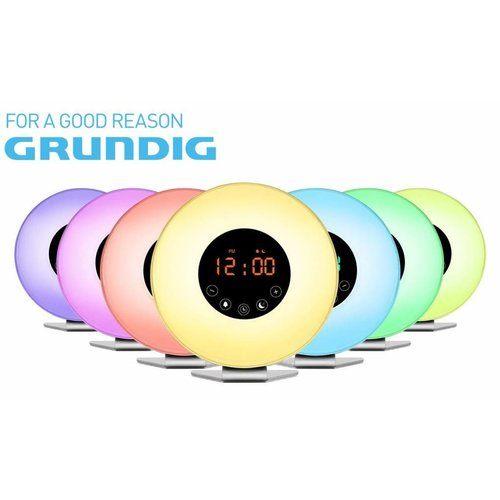 Grundig Grundig Wake-up light - color changing with fm radio