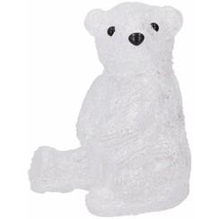 Xmas Zittende ijsbeer