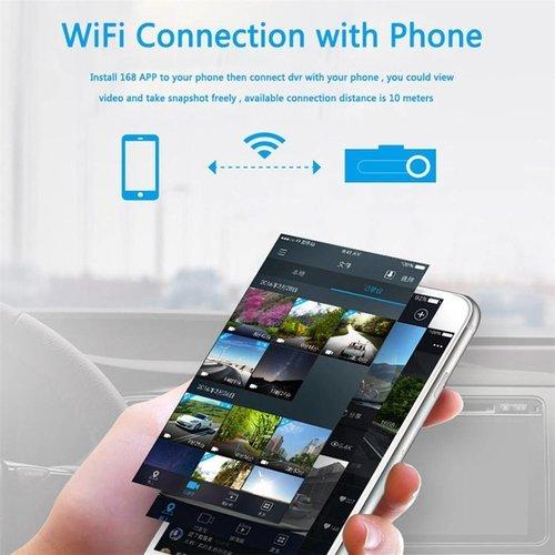 Parya Full HD WiFi Dashcam