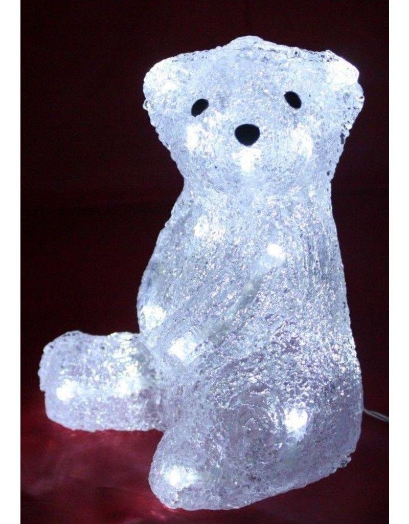 Grundig Xmas Zittende ijsbeer