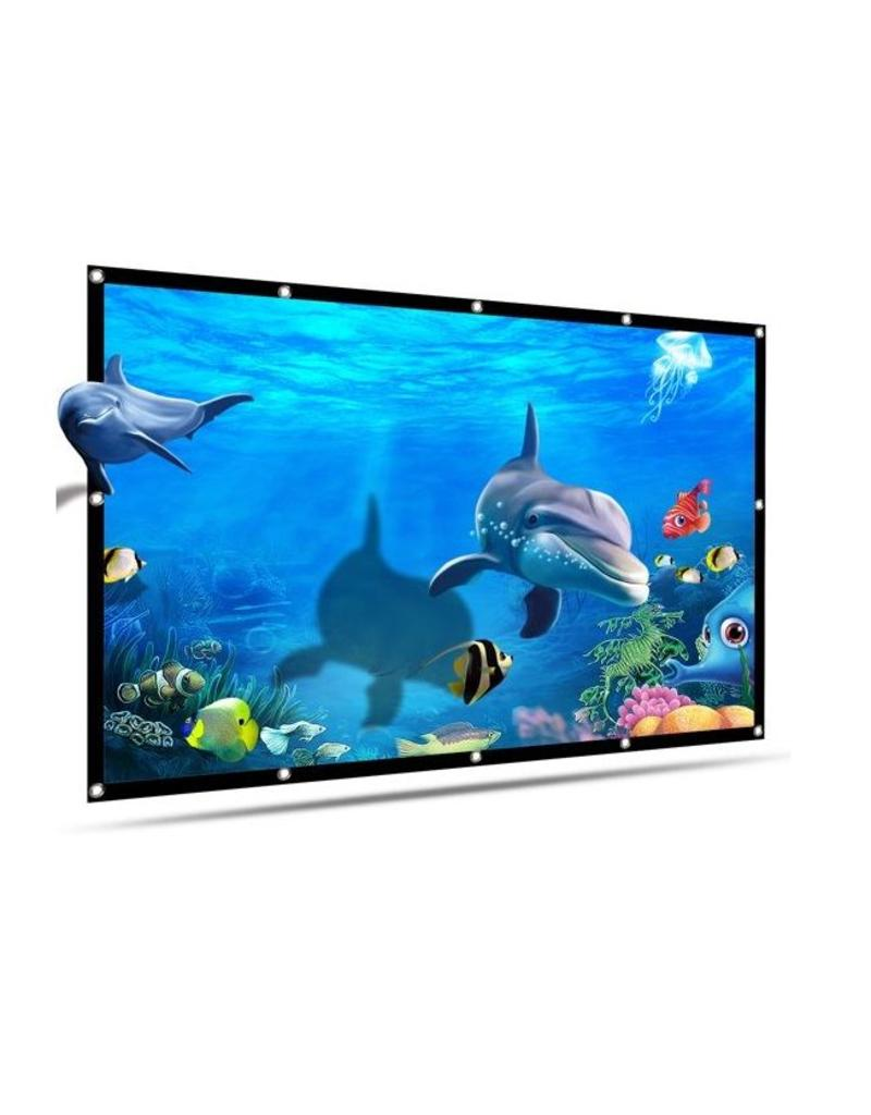 Projection screen 100 inch