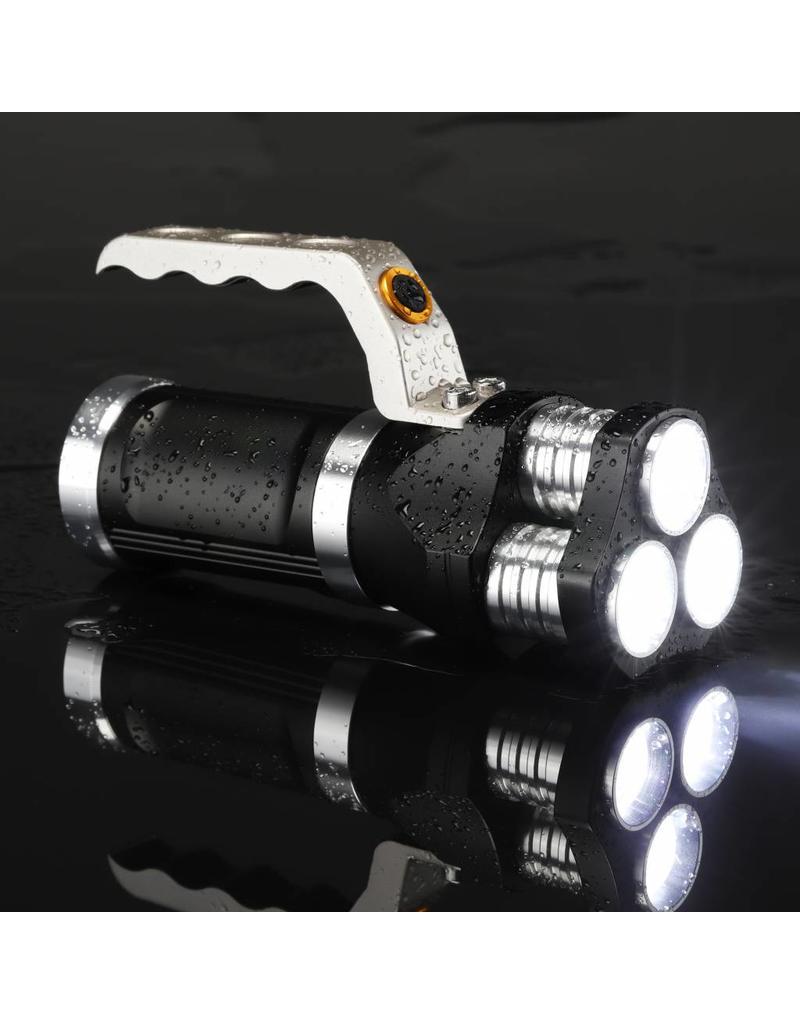Flash light 1500mah LED