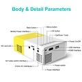 Parya - Mini LCD High Definition Projector
