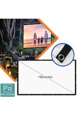 Projectiescherm 100 inch