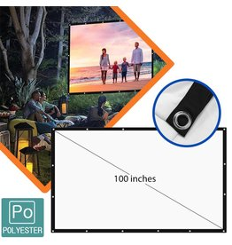 Parya Official  Projection screen 100 inch