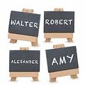 Alpina Chalkboard name marker set (9-piece)