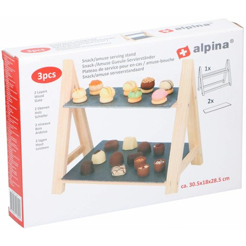 Alpina Serving stand for Snacks & Amuses