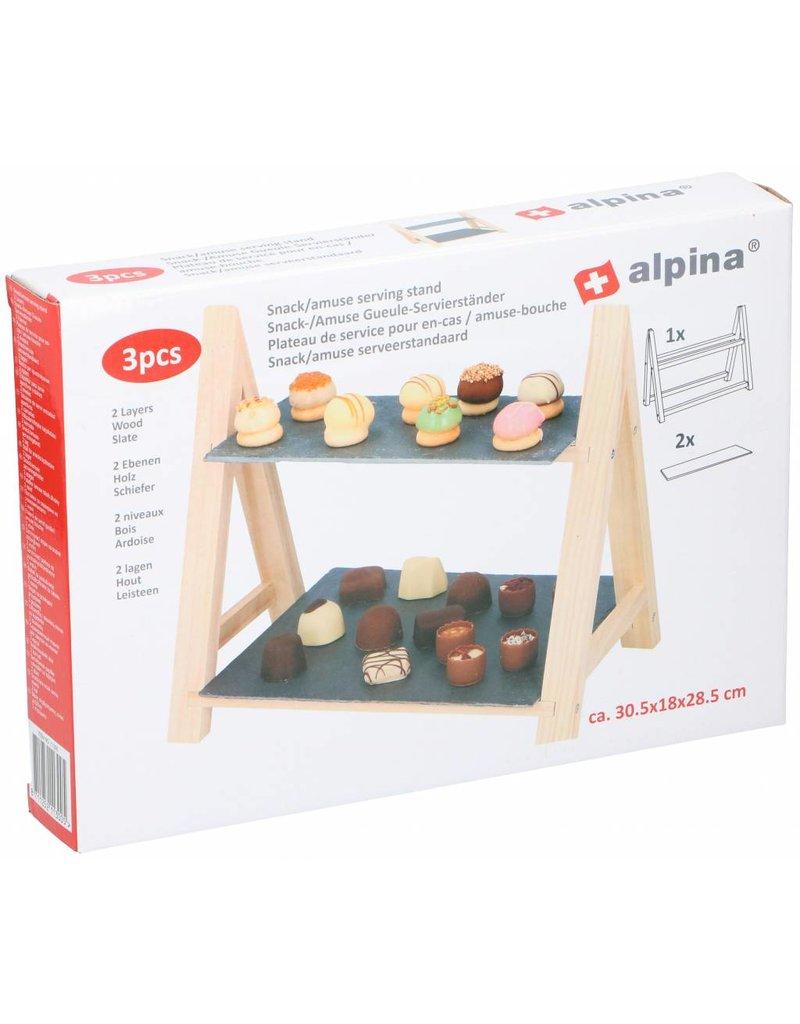 Alpina Serveerstandaard  voor Snacks & Amuses