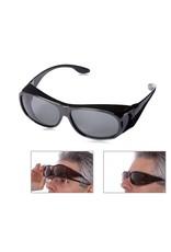 Parya Fit over sunglasses