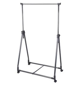 Storage Solutions Clothes rack on 4 wheels