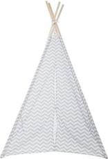Merkloos Deco tipi voor kinderen 160CM - Grijs