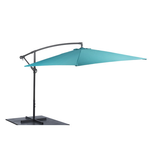Freely suspended floating parasols - 3 metres - Different colours