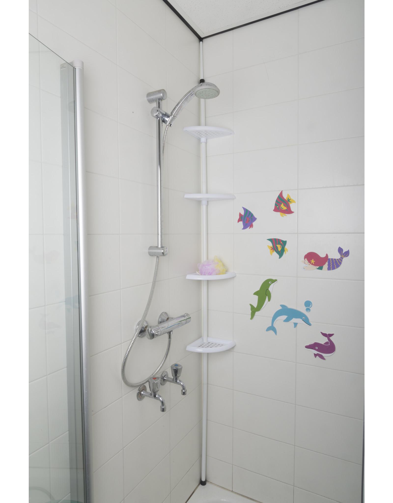 Bath & Shower Telescopic bathroom rack