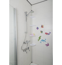 Bath & Shower Telescopic bathroom rack