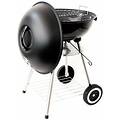 Dome barbecue on wheels