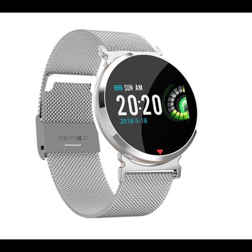 Parya Smart Watch PP69- Stainless steel