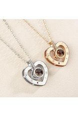 Parya Official  Ketting met projectie (I love you)