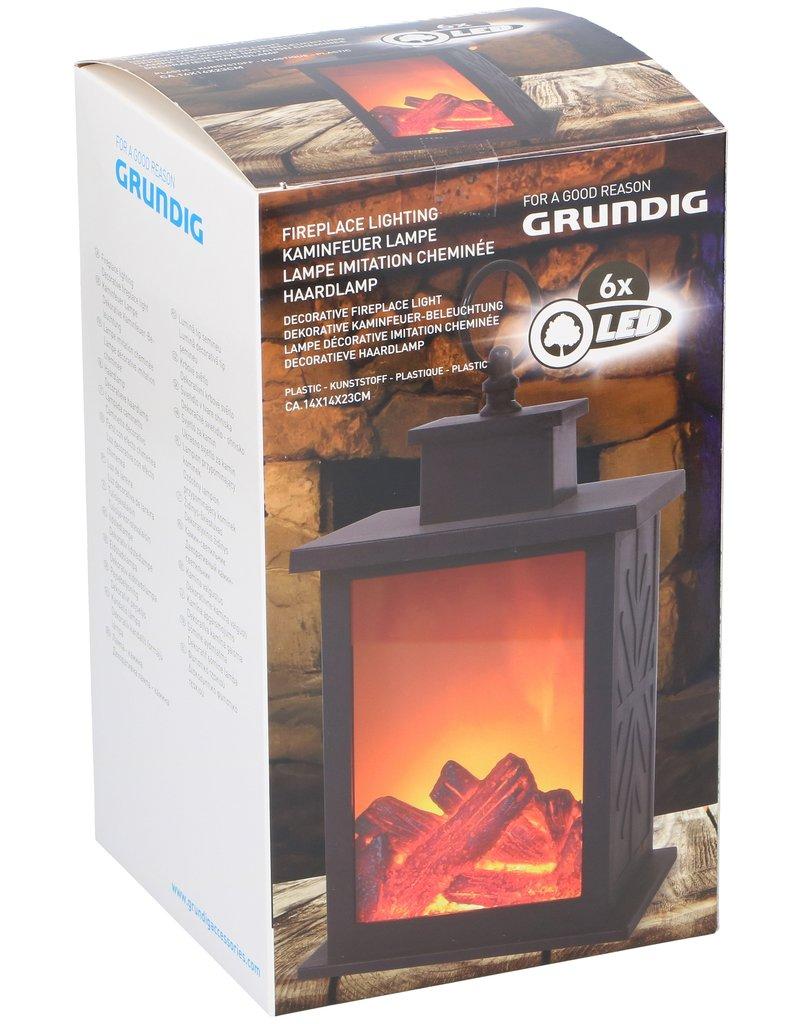 Grundig Fire simulation lantern