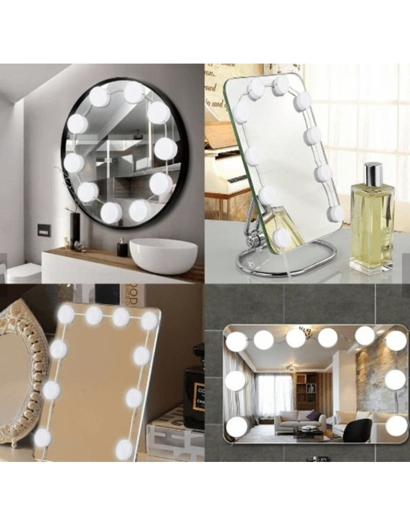 Hollywood mirror lights - LED