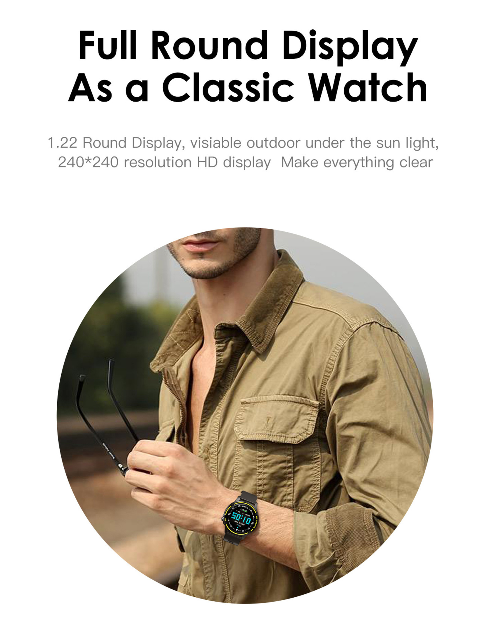 Parya Official  Parya WEAR smart watch - Full screen