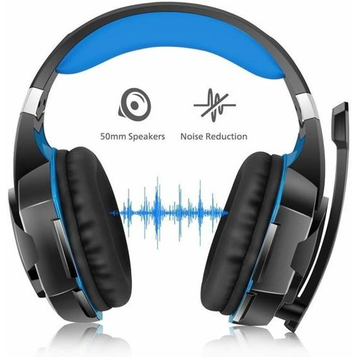 Kotion Each Kotion Each G2000 - Gaming Headset - Zwart/Blauw