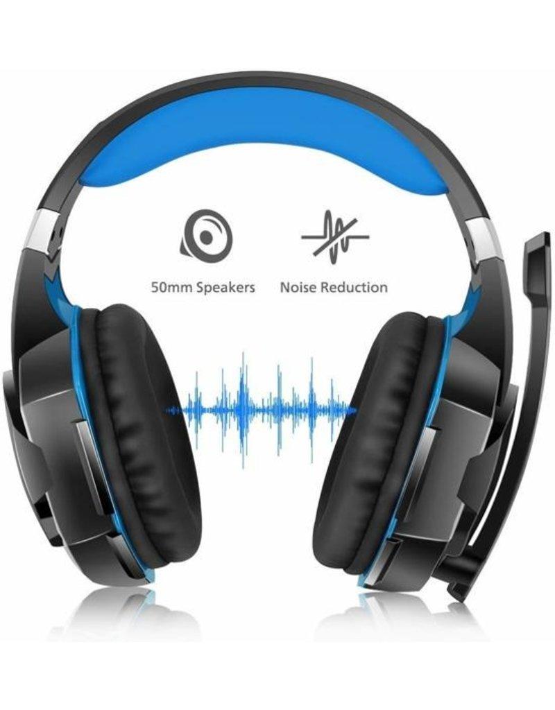 Kotion Kotion Each G2000 - Gaming Headset - Zwart/Blauw
