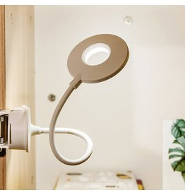 LED desk lamp - with clamp