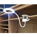 Parya Official - LED Desk lamp - With clamp - White