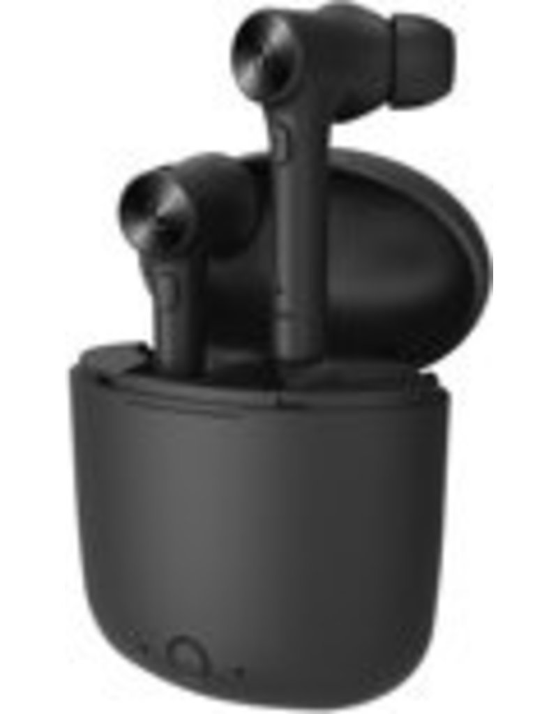 Merkloos Bluedio wireless earbuds with charging station - Black