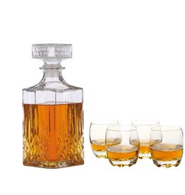 Parya Official  Chique 5-delige Whiskey set
