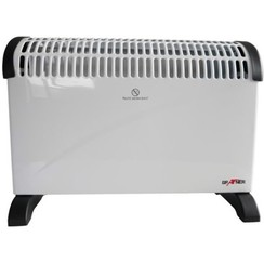 Convector heater with timer