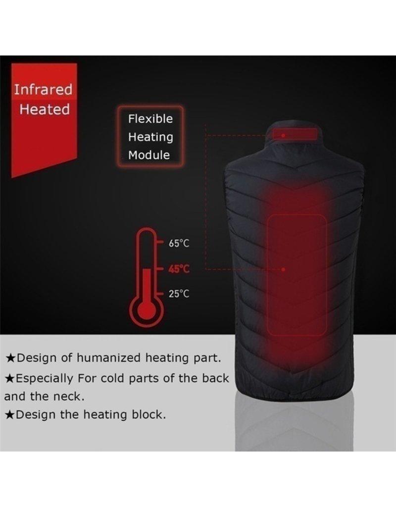 Parya Official  Elektrisch verwarmde body warmer (via USB)