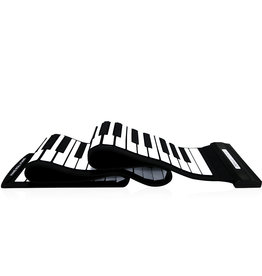 Parya Official  Piano portable 88 Keys Flexible Roll-Up