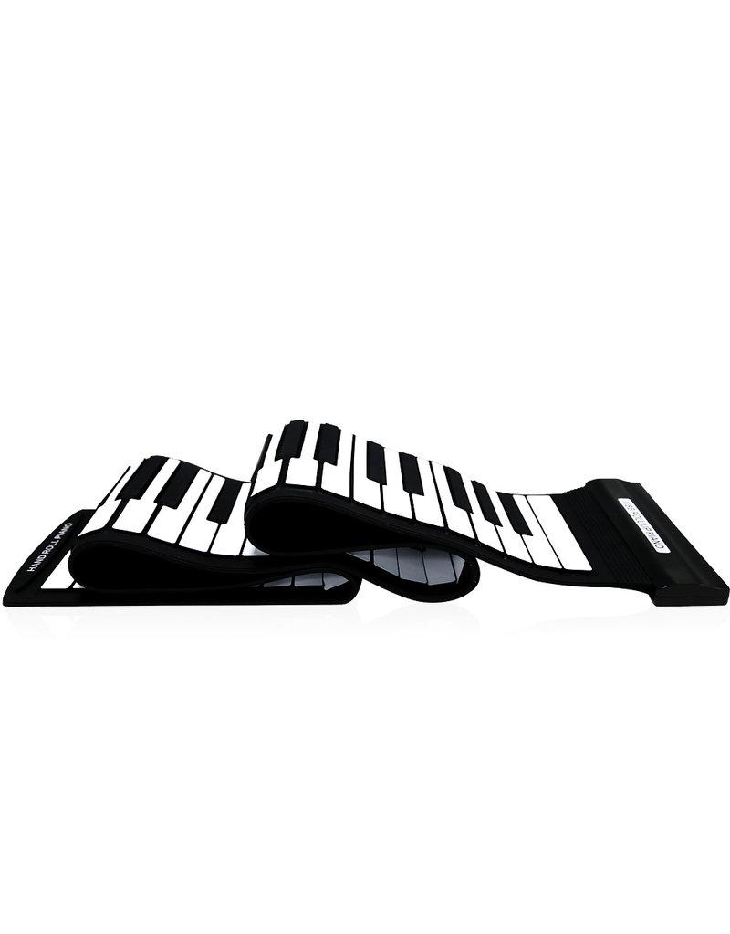 Parya Official  Piano portable 88 Keys Flexible Roll-Up