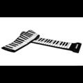 Piano portable 88 Keys Flexible Roll-Up