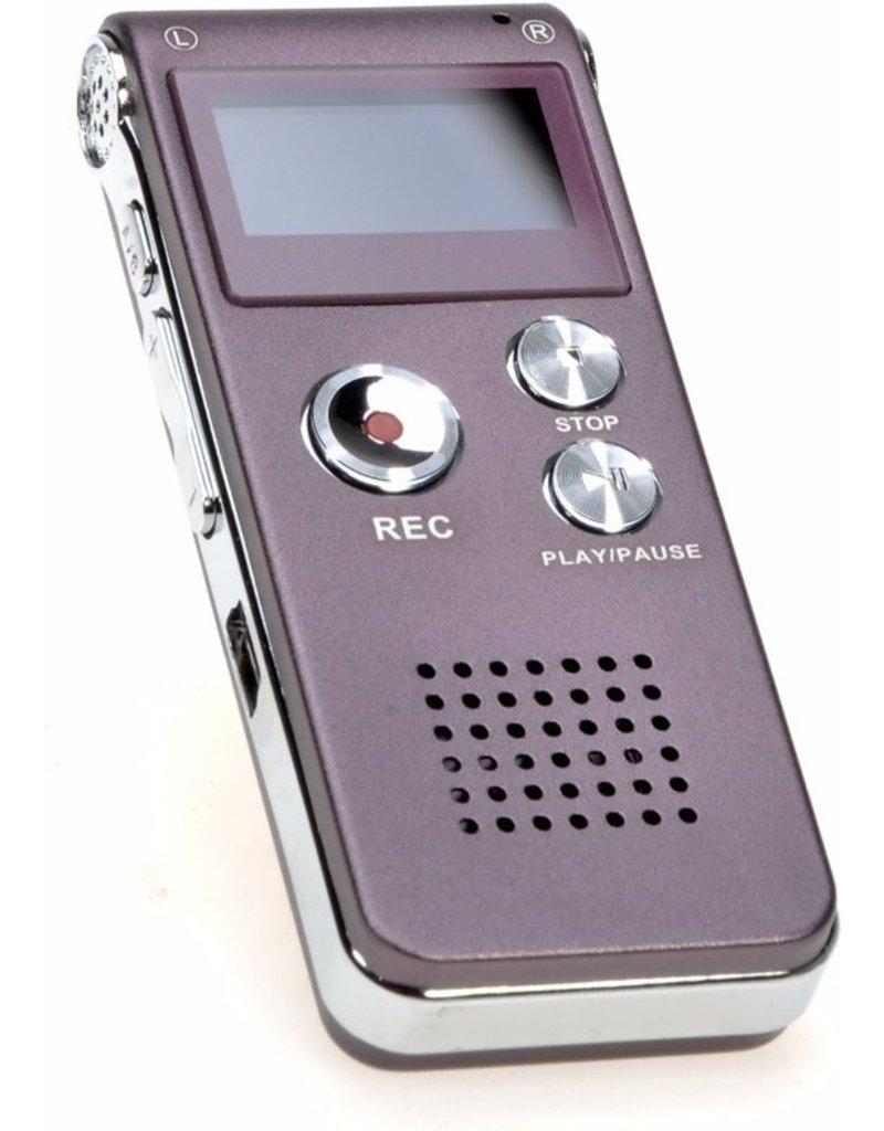 Merkloos Premium Digitale - Premium Voice Recorder