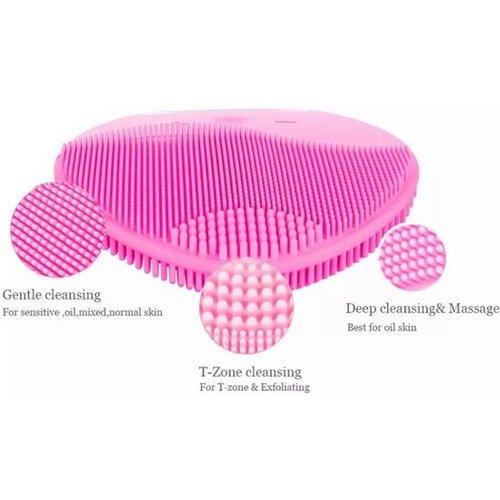 Gezicht Reinigingsborstel Elektrische Trillingen Massage Borstel