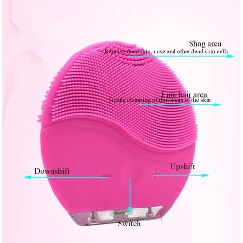 Face Cleaning brush Electric Vibration Massage Brush