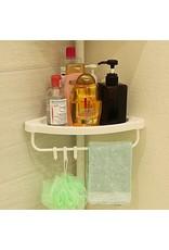 Merkloos Uitschuifbaar doucherek met vier lagen