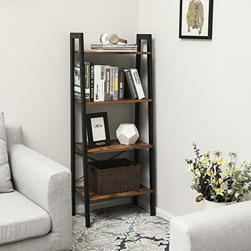 Boekenkast met vier planken