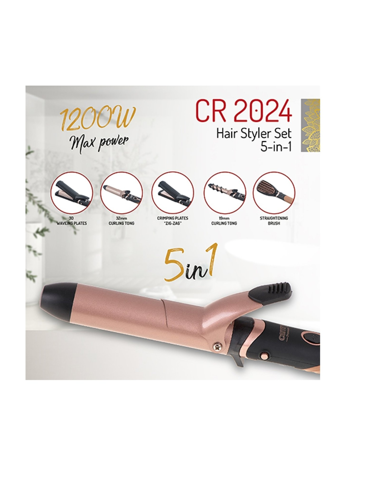 Cambry Cambry - 5-delig Hairstylerset - CR 2024