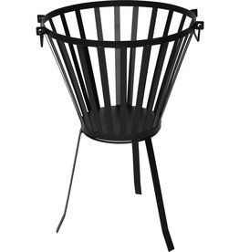 Fire basket - Round - Ø 38 cm - Black