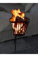 Fire basket - Round - Ø 38 cm - Black