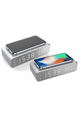 Parya Official  Digital alarm clock + Charger for your phone