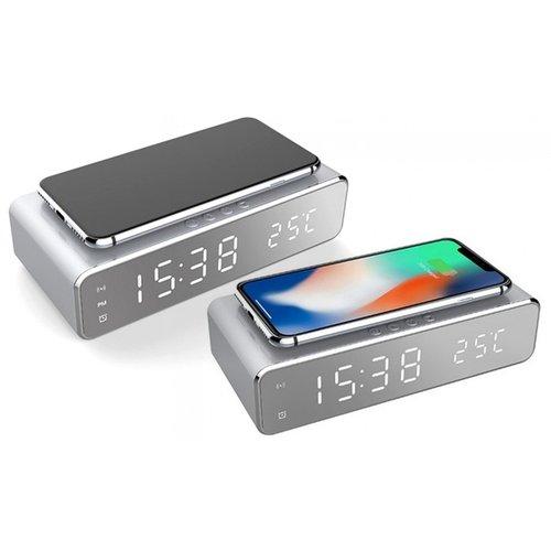 Digitale wekker + Oplader voor je telefoon
